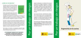 Folleto - Instituto Nacional de Seguridad e Higiene en el Trabajo