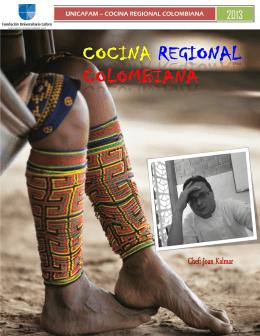 Recetario de Cocina Regional Colombiana