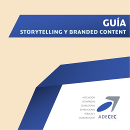 GUÍA Storytelling y Branded Content