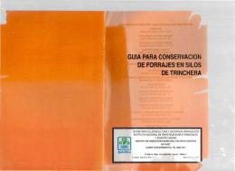 folleto tecnico 7 guia para la conservacion de forrajes en s