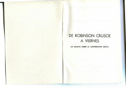 de robinson crusoe a viernes - Centro de Investigaciones Sobre la