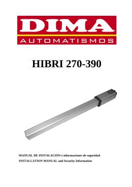 HIBRI 270-390 - Dima Automatismos