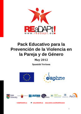 Pack Educativo para la Prevención de la