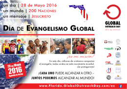 DÍA DE EVANGELISMO GLOBAL - Global-Outreach-Day