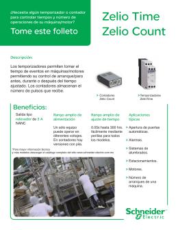 Zelio Time Zelio Count