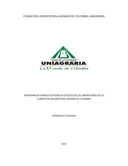 anexo - Uniagraria