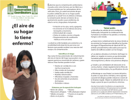 Aire en el hogar - Housing Conservation Coordinators