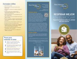 EN EL HOGAR - Allergy & Asthma Network
