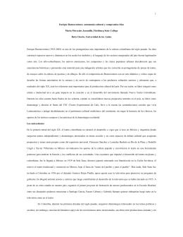 Bibliografía de Enrique Buenaventura