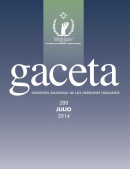 GACETA 288 - Comisión Nacional de los Derechos Humanos