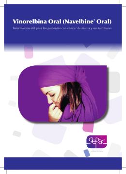 Guía sobre la vinorelbina oral para cancer de mama