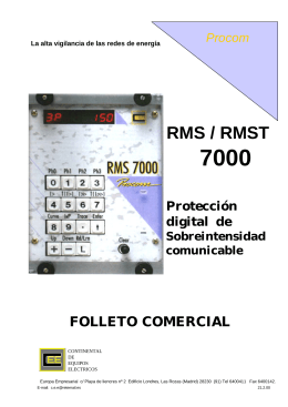 FOLLETO RMS7992