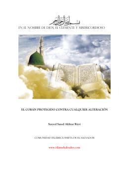 El Coran Protegido - La Casa del Profeta