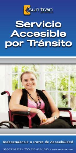 Servicio Accesible por Tránsito
