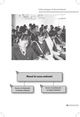 Manual de acceso ambiental (cuadros)