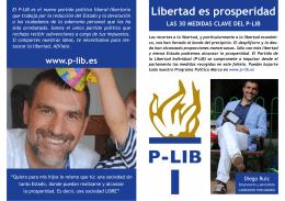 Libertad es prosperidad - P-Lib