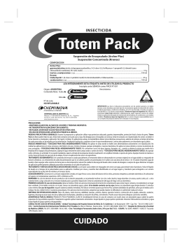 Folleto dorso Totem Pack byn