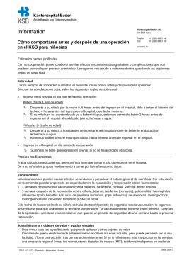 Information - Kantonsspital Baden