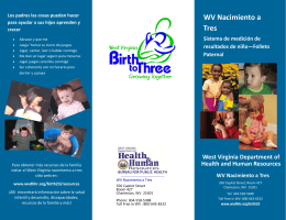 Parent COSF Brochure - October 2015-SPANISH