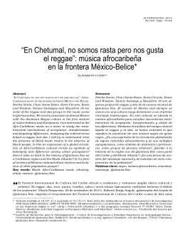 """""""En Chetumal, no somos rasta pero nos gusta el reggae"""