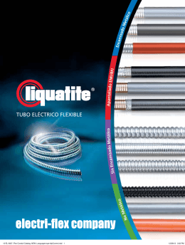 TUBO ELÉCTRICO FLEXIBLE - Electri-Flex