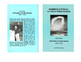 Capítulo 82 La Revelación de Jesucristo 1960-1961