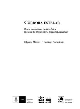 Capítulo 1 - Córdoba Estelar