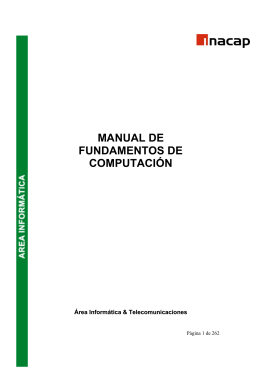 Manual de Fundamentos de Computacion V3.1