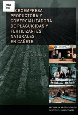 Proyecto Piloto Demostrativo Ambiental