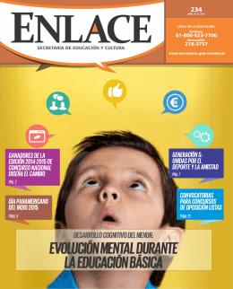 Enlace N° 234 Evolución mental durante la Educación Básica
