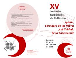 Jornadas Regionales de Reflexión Iglesia, Servidora de los Pobres