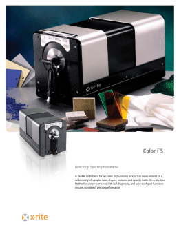 Color i™5 - Lab Solutions