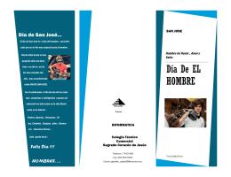folleto - Bienvenidos a nuestra web