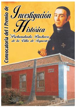 FOLLETO INVESTIGACION HISTORI