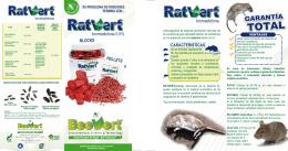 FOLLETO RATVERT - Control de Plagas Urbanas BeeVert