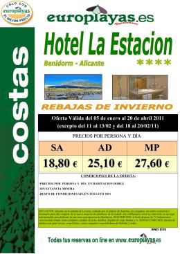 BND 835 HOTEL LA ESTACION 20abr