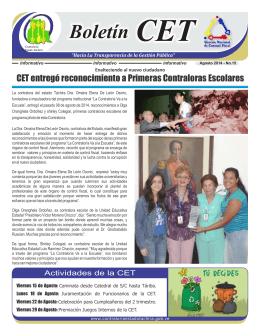 CET - Contraloría del Estado Táchira