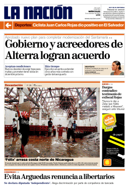 Evita Arguedas renuncia a libertarios
