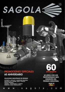 promociones especiales 60 aniversario