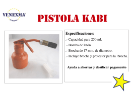 017 Pistola de dar cola Kabi