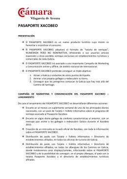 Pasaporte Xacobeo