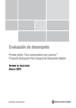 Evaluación Proyecto Quinquela - Ciudad Autónoma de Buenos Aires