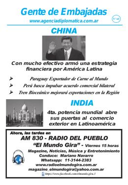 periódico N° 60 - Agencia Nacional de Noticias del Cuerpo