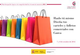 Hazlo tú mismo Diseña tus carteles y folletos comerciales con Canva