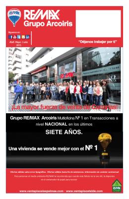 ¡La mayor fuerza de venta de Canarias! Grupo RE