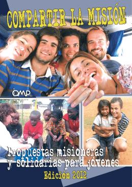 Folleto jóvenes misioneros Diciembre 2011-2.qxd