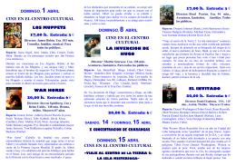 abril cultural - Ayuntamiento de Peñafiel