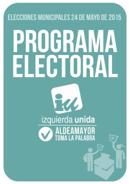 elecciones municipales 24 de mayo de 2015