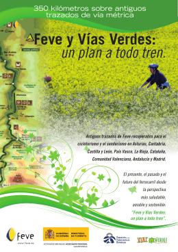 Feve y Vías Verdes: un plan a todo tren. - Vía Libre - Vialibre