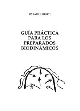 guía práctica para los preparados biodinámicos